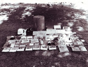Time Capsule contents