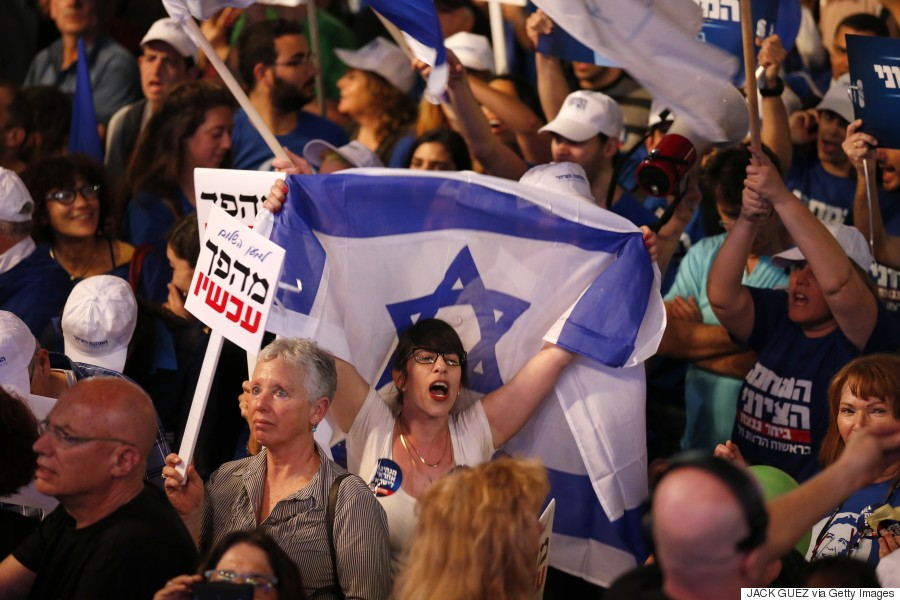 ISRAEL-POLITICS-VOTE-DEMO